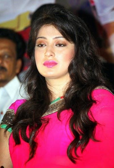 Lakshmi Rai In Pink Saree