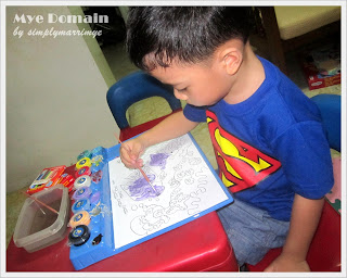 SUPERBOY with his fave shirt