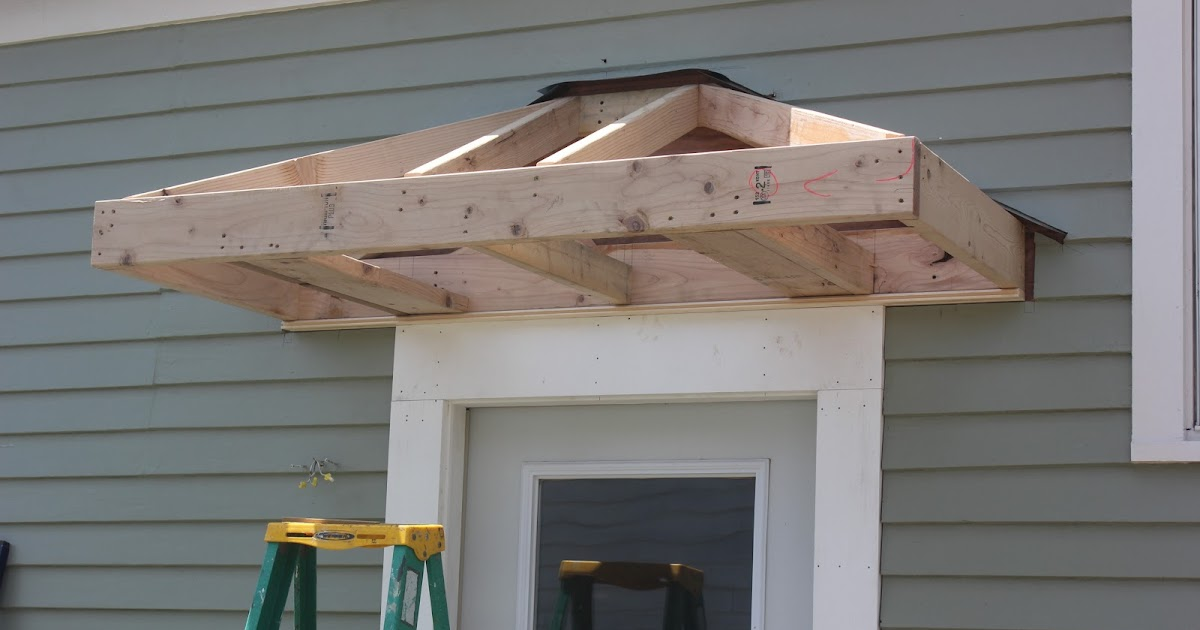Bricks Amp Honey Building The Back Door Overhang