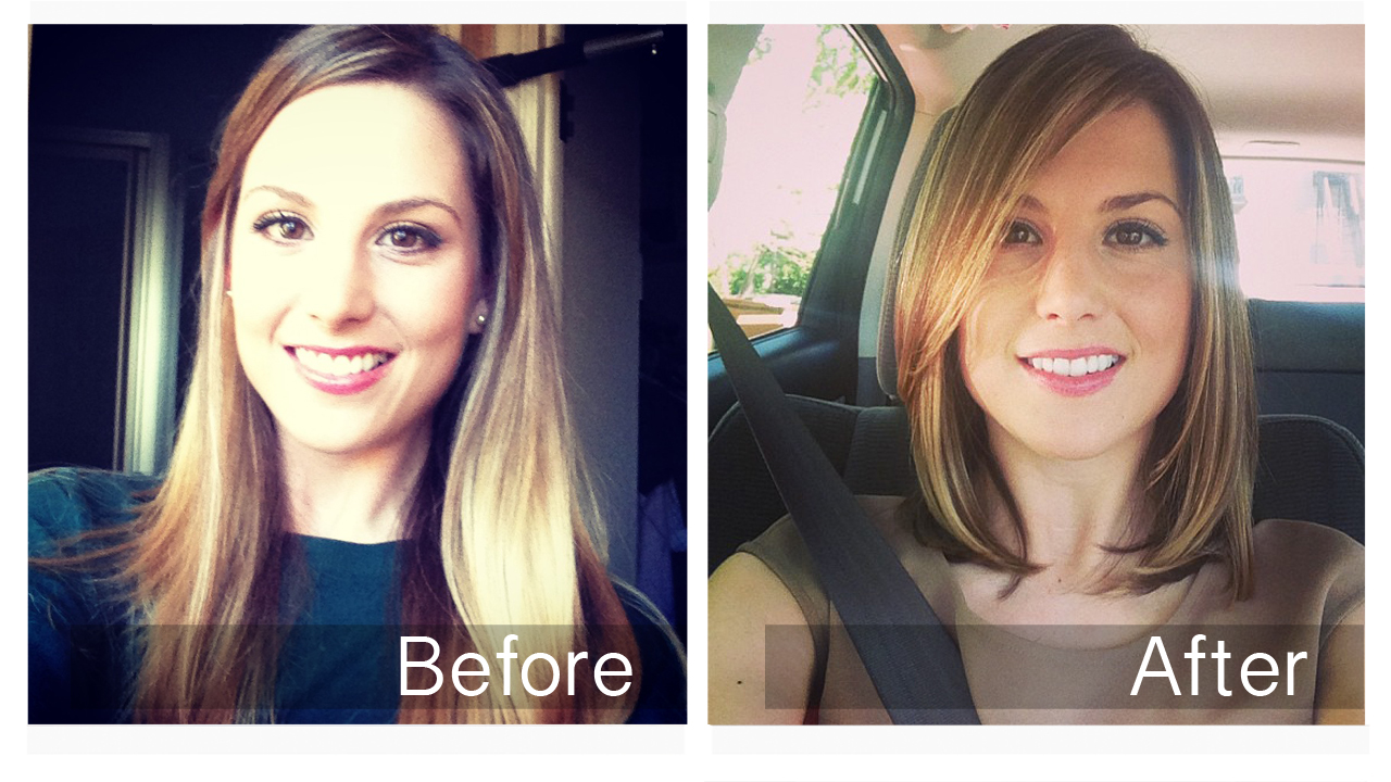 Hair Cut From Long To Short