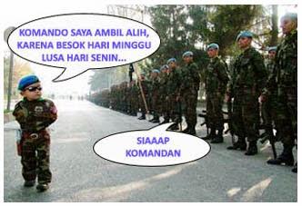 Cerita Humor: Komandan Tes Loyalitas Prajurit