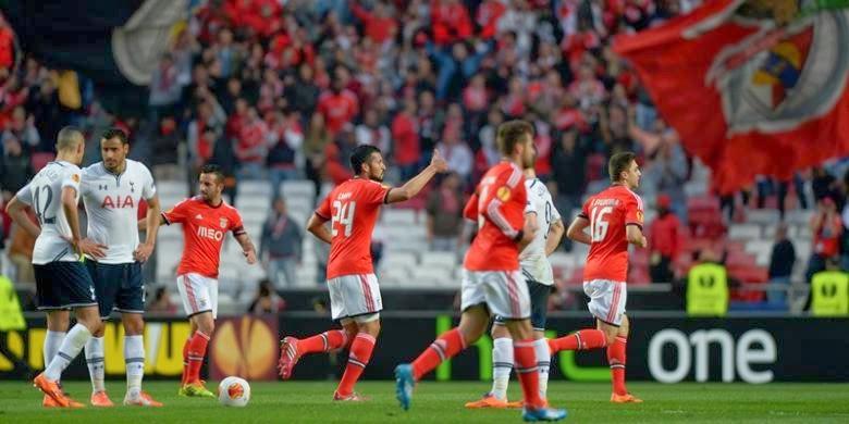 Hasil Pertandingan Benfica vs Tottenham 21 Maret 2014 - Liga Europa