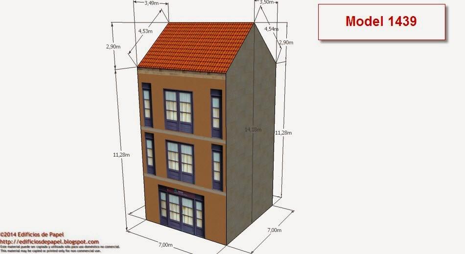 ©2014 Edificios de Papel - Modelos 1438-39 Edificio Rehabilitado2