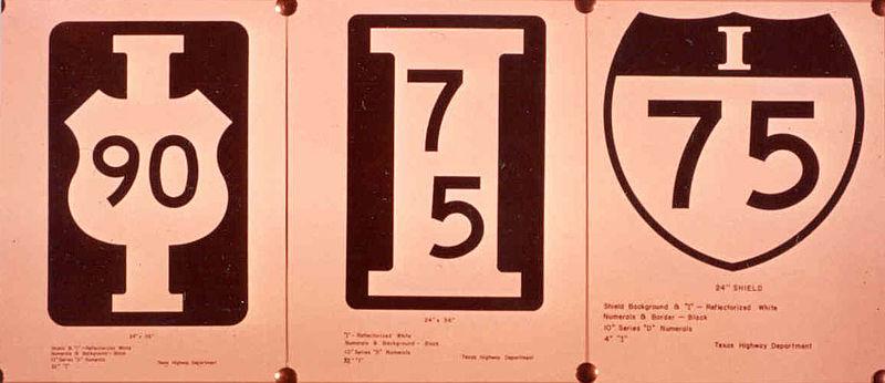 US Interstate Highway System - Original map of us interstae system 1955