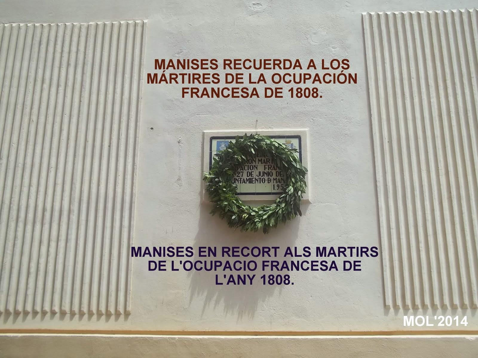 VIERNES DÍA 27 DE JUNIO, ANIVERSARIO DE LOS ASESINATOS POR LAS TROPAS FRANCESAS EN 1808.