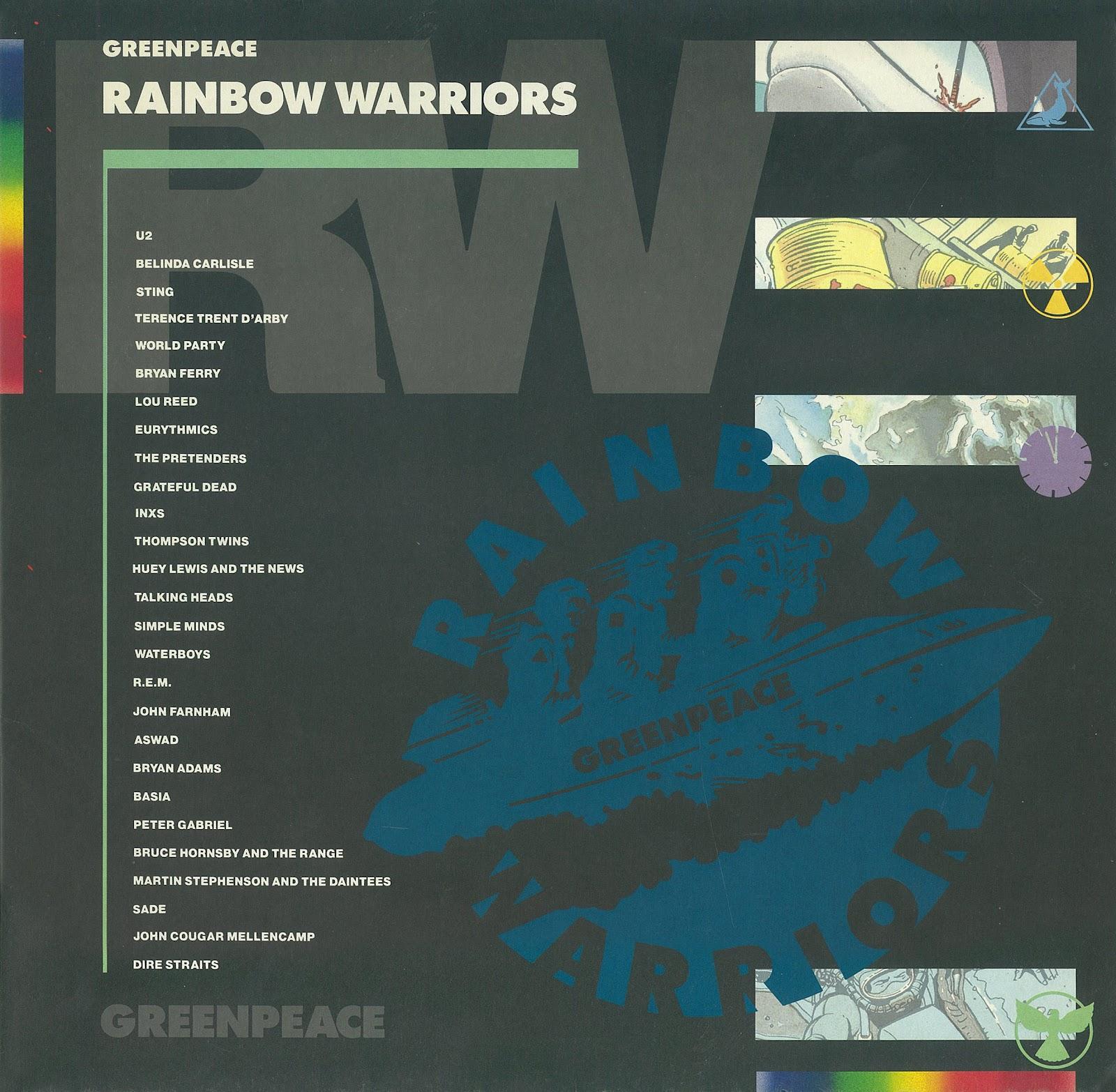 Rainbow Warrior I Ii Y Iii Greenpeace: 365grammofoonplaten: Oktober 2012