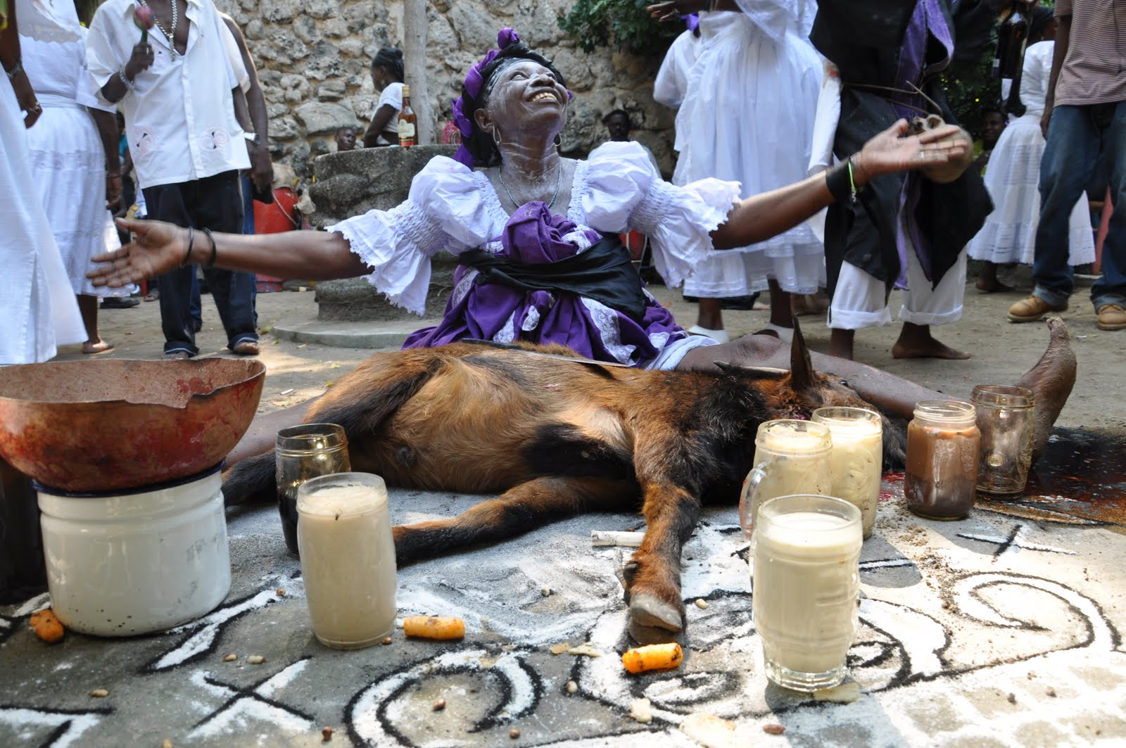 voodoo beliefs on afterlife and death