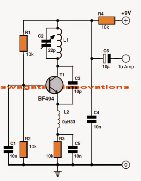 Simple FM Radio Circuit on Led Light Strip Wiring Diagram