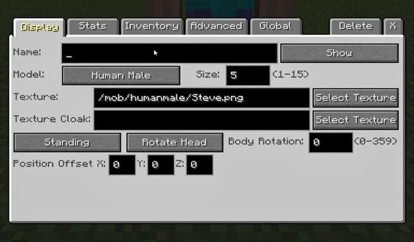 Как сделать диалоги в custom npc