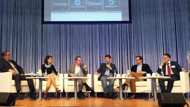 FinTech-Diskussion, ARD-Bühne Invest 2016