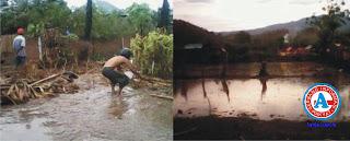 Desa Buncu Terendam Banjir Puluhan Hektar Sawah Terancam Gagal Panen