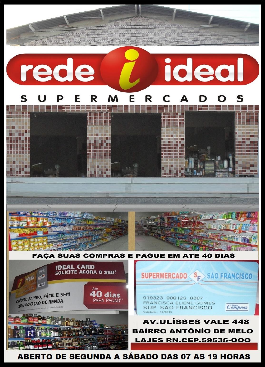 REDE ÍDEAL SUPERMERCADO LAJES RN