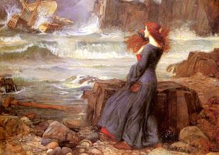 John William Waterhouse Miranda La Tempesta Shakespeare