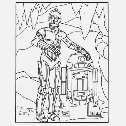 R2d2 Coloring Page C3po Coloring Pages To...