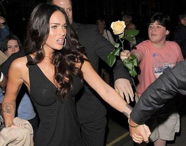 Hilarious Celebrity Photos Ruined at the Perfect Moment