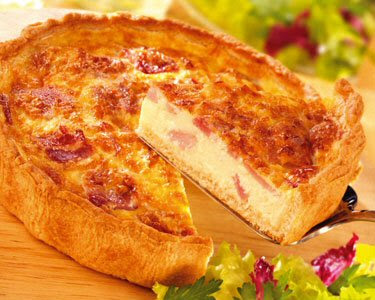 Seed to Feed Me: RECIPE FOR QUICHE LORRAINE