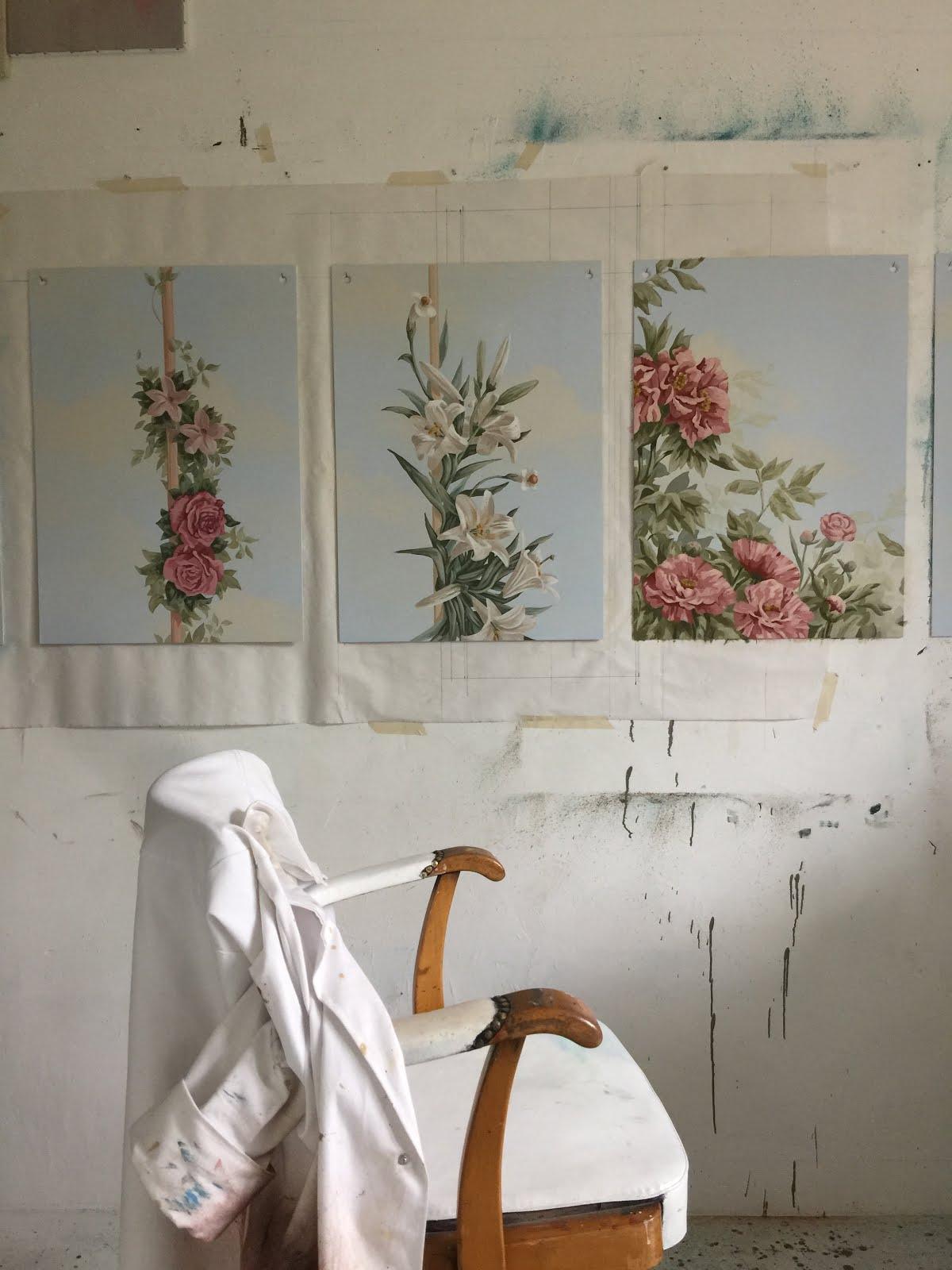 Vox A Arts Visuels Echantillon Pour Trompe L Oeil Au Plafond