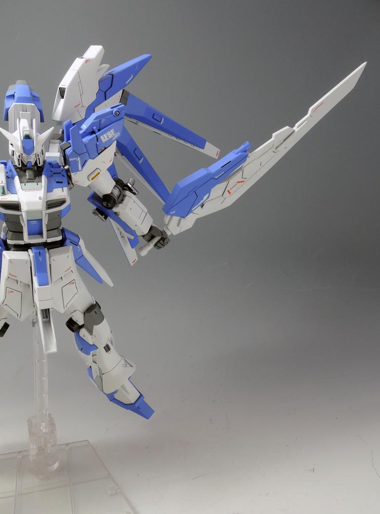 HGBF 1/144 Hi-Nu Gundam Vrabe - Customized Build
