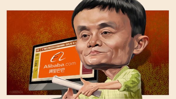 Joe Cummings illustration of Jack Ma by maxginez3
