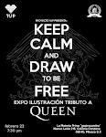 EXPO ILUSTRACIÓN TRIBUTO QUEEN