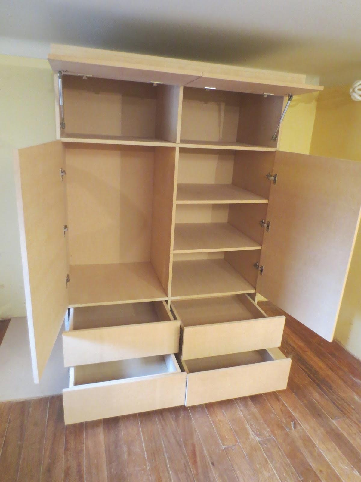 Muebles de madera sencillos para ropa - Como lacar un mueble de madera ...