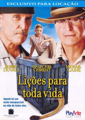 Filme Poster Lições Para Toda Vida DVDRip XviD & RMVB Dublado