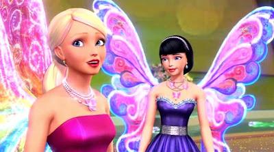 gambar kartun 2 barbie