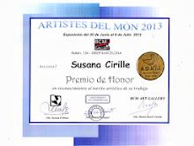 """PREMIO DE HONOR A LA OBRA """"ISABELLA Y GIULIANA"""" - 2013"""