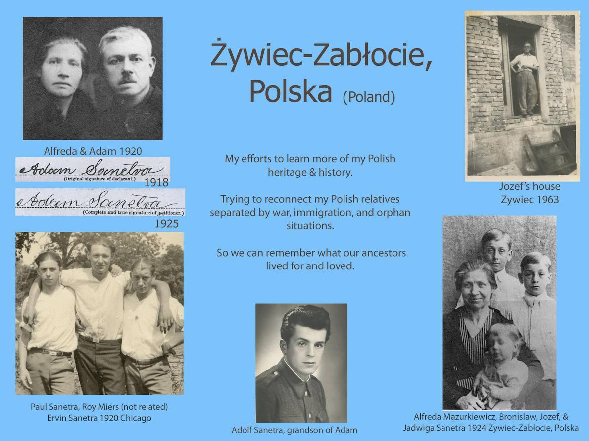 Polish families from Żywiec-Zabłocie, Polska (Slaskie)
