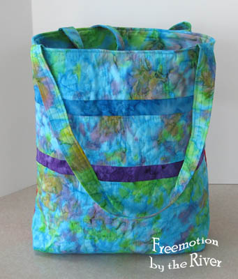 Nyan Cat tote back at Freemotion by the river