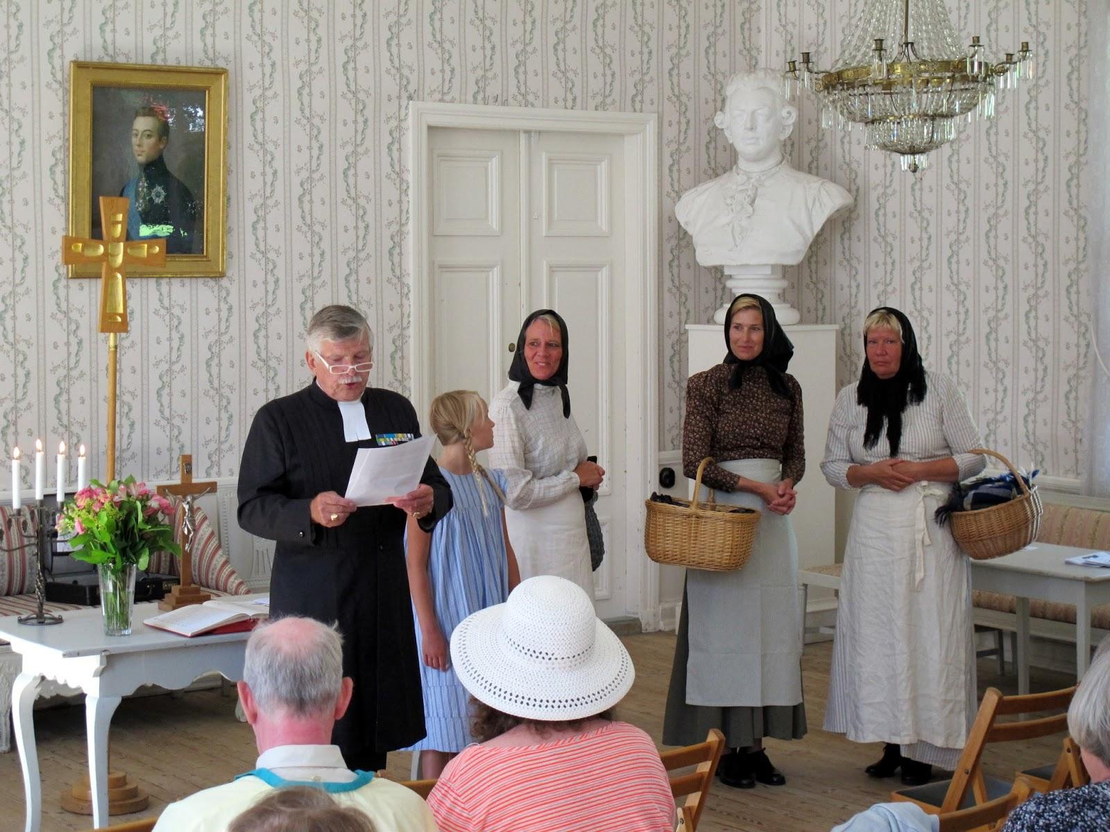 Kurt Olssons berättelse om prästens roll på Gustafsberg: