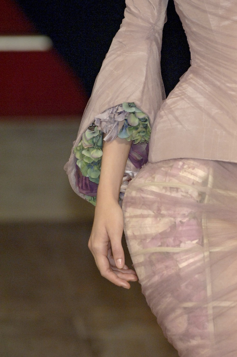 "Alexander McQueen / Savage Beauty / Detail from the ""Sarabande"" Spring/Summer 2007 collection / via fashioned by love British fashion blog"