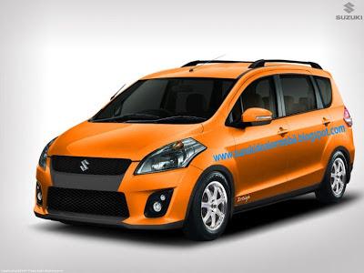 modif ertiga warna orange