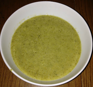 Creme of broccoli soup in slow cooker