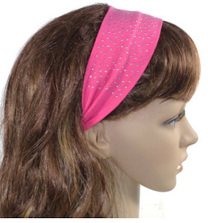 Simple Rhinestones Headbands –Stretchable And Sparkling