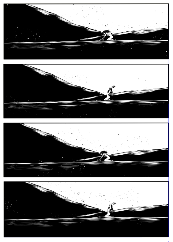 ©Mojo Wang - Mini Comic Story: Between Rivers #8