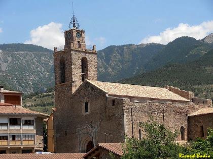 L'església de Sant Esteve de Baga. Autor: Ricard Badia