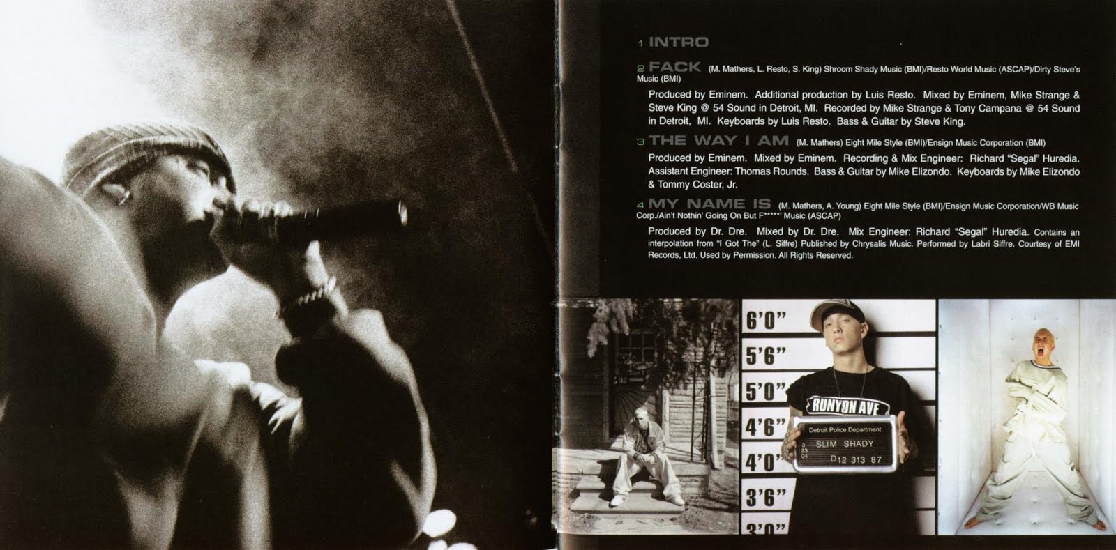 Curtain call eminem - Tags Booklet Eminem