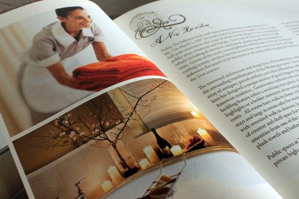 Hotel Brochure Design