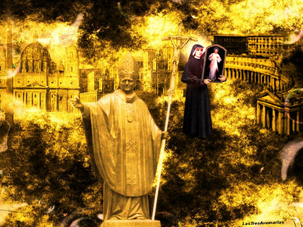 el papa santo Jua pablo II