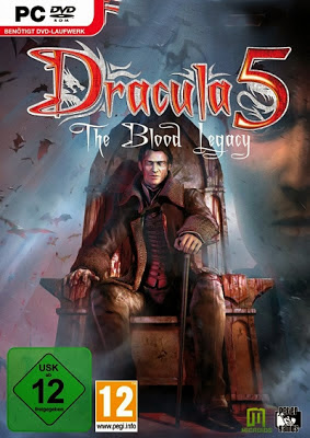 Dracula 5 The Blood Legacy PC Game Cover