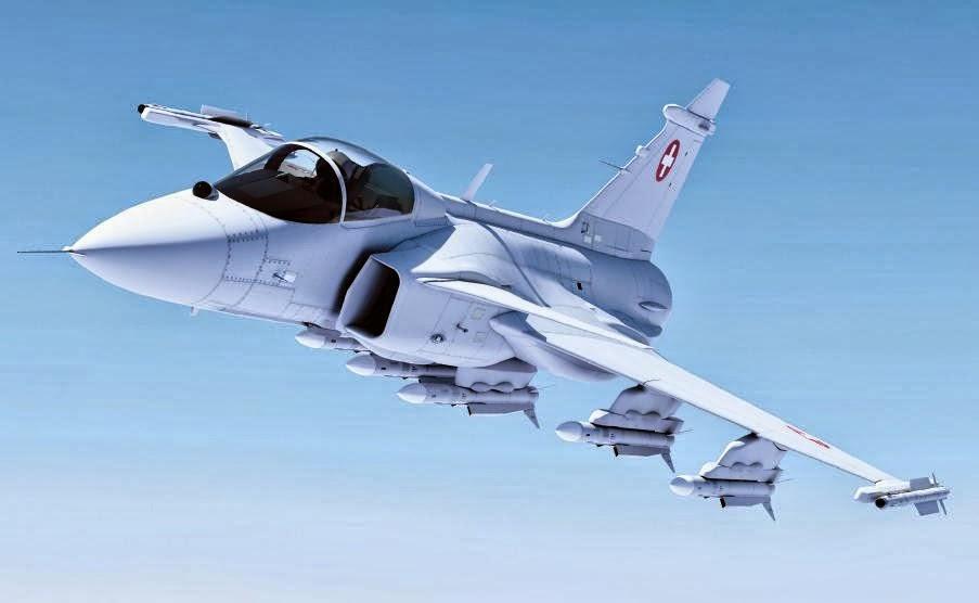 SAAB Swedia tawarkan JAS39 Gripen serie Kepada TNI AU