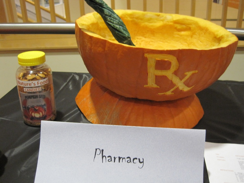 Pharmacy Pumpkin Carving Ideas