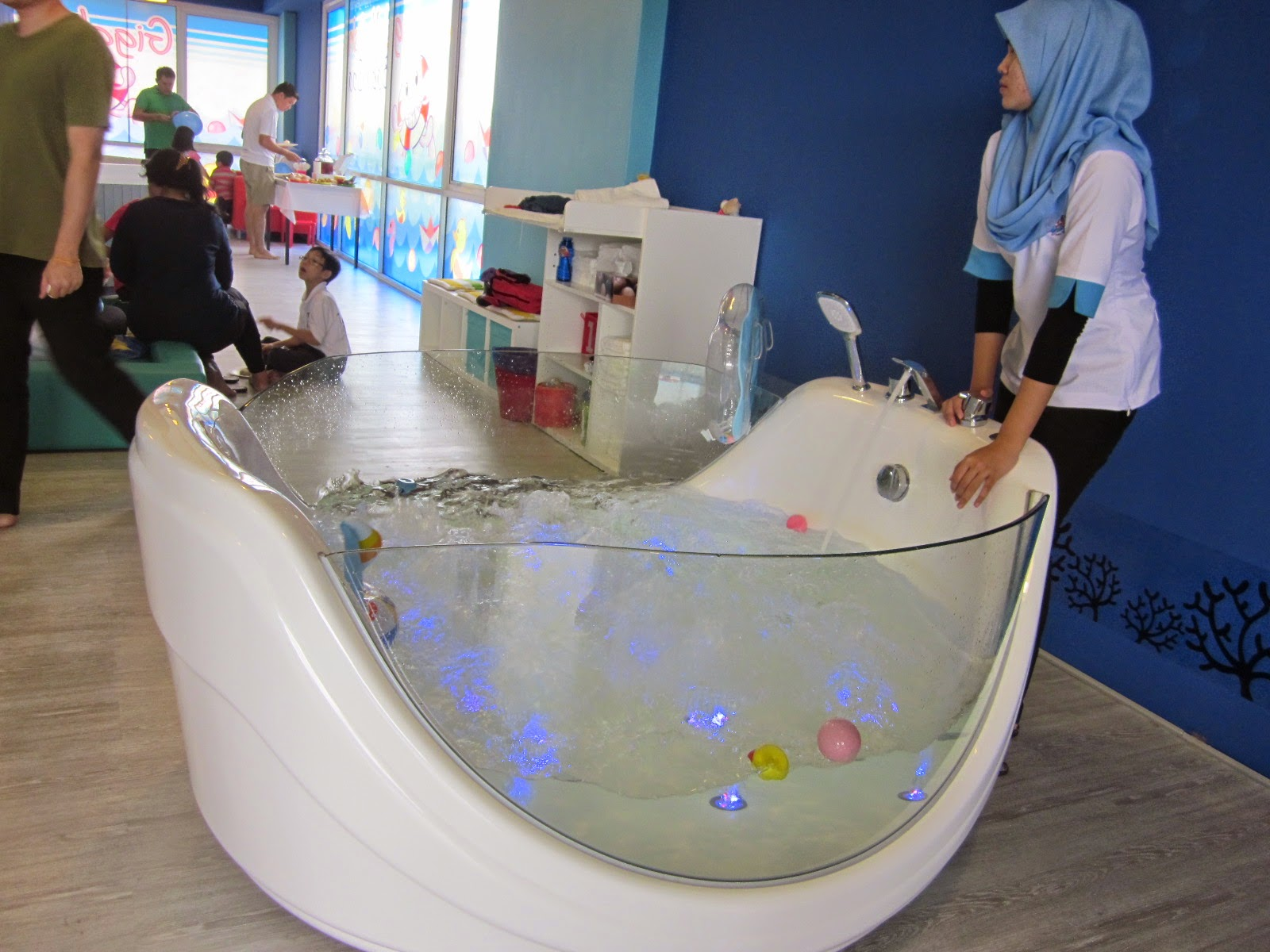 My Blogs: Giggling Jellyfish Baby Spa