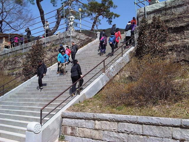 Sudok-Sa Monastery steps