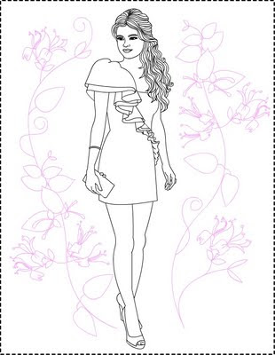 Image Result For Selena Gomez Coloring