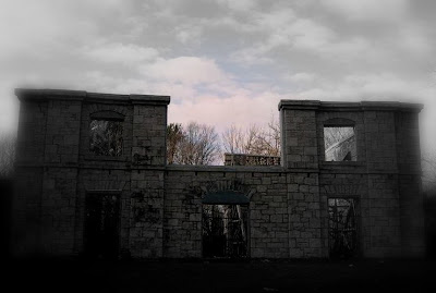 Near Ancaster, Ontario is the ruins of a old mansion that is thought to be haunted by it's last owner and the ghost of a forlorn lover