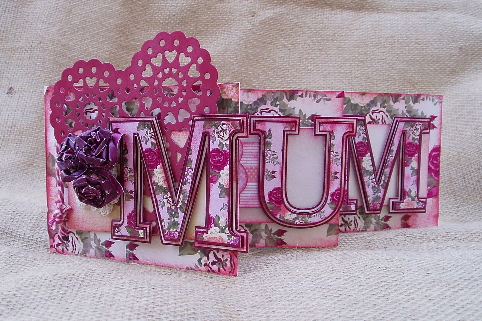 Delicious Designs by Jill Pryor Happy Birthday Mum Booklet Card – 80th Birthday Cards for Mum
