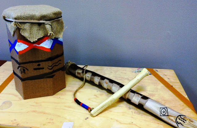 7th Grade Native American Inspired Musical Instruments
