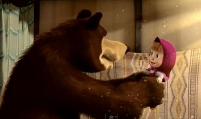 Kelucuan Masha and The Bear